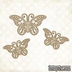 Чипборд Blue Fern Studios - Bohemian Butterflies - ScrapUA.com
