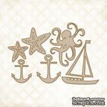 Чипборд Blue Fern Studios - Nautical Set - ScrapUA.com