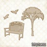 Чипборд Blue Fern Studios - Descanso Gardens - ScrapUA.com