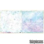 Лист скрапбумаги Blue Fern Studios - Ombre Dreams - Charlotte's Dream, двусторонняя, 30х30 см - ScrapUA.com