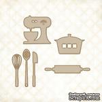 Чипборд Blue Fern Studios - Cute Kitchen Set - ScrapUA.com