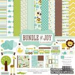 Набор бумаги от Echo park - Bunble of Joy Boy - Baby Boy Collection Kit - ScrapUA.com