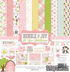 Набор двусторонней бумаги для скрапбукинга от Echo park - Bundle of Joy - A New Addition Girl - ScrapUA.com
