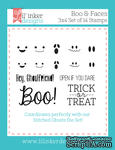 Штампы от Lil' Inker Designs - Boo & Faces Stamps - ScrapUA.com