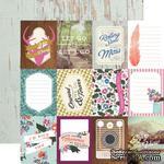 Лист скрапбумаги от Echo Park - 3x4 Journaling Cards - Wildflower, 30х30 см - ScrapUA.com