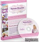 Диск с видео-мастер классами от  Crafters Companion -Cupcake Templates Collection - Video Tutorials CD-ROM - ScrapUA.com