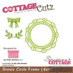 Лезвие CottageCutz - Ornate Circle Frame, 10х10 см, коллекция My Little Shoebox - ScrapUA.com
