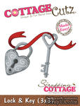 Лезвие CottageCutz - Lock & Key, 7,5х7,5 см - ScrapUA.com