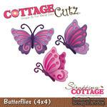 Лезвие CottageCutz - Butterflies, 10х10 см - ScrapUA.com