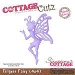 Лезвие CottageCutz - Filigree Fairy, 10х10 см - ScrapUA.com