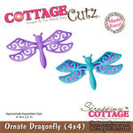 Лезвие CottageCutz - Ornate Dragonfly, 10х10 см - ScrapUA.com