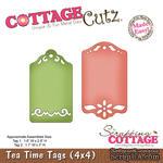 Лезвие CottageCutz - Tea Time Tags, 10х10 см - ScrapUA.com
