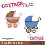 Лезвие CottageCutz - Baby Buggy, 10х10 см - ScrapUA.com