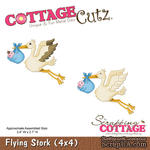 Лезвие CottageCutz - Flying Stork, 10х10 см - ScrapUA.com