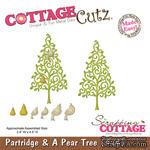 Лезвие CottageCutz Partridge & A Pear Tree, 10х10 см - ScrapUA.com