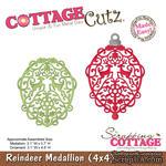 Лезвие CottageCutz Reindeer Medallion, 10х10 см - ScrapUA.com