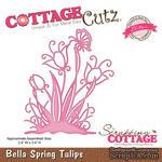 Лезвие CottageCutz Bella Spring Tulips (Elites) - ScrapUA.com
