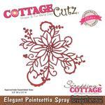 Лезвие CottageCutz Elegant Poinsettia Spray (Elites) - ScrapUA.com