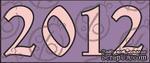 """Чипборд Надпись """"2012"""", №1. - ScrapUA.com"""