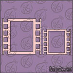 """Чипборд. Набор рамок """"Кинокадр"""" №1 cb-339 - ScrapUA.com"""