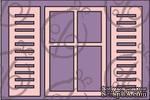"Чипборд. Набор ""Окно со ставнями"". Маленький, 3 элемента, cb-161 - ScrapUA.com"