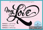 "Штамп ""my Love"" NMN620 NMN620-2, 3x1.9см - ScrapUA.com"