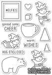 Штампы от Memory Box - Playtime Elves clear stamp set - ScrapUA.com