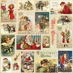 Лист скрапбумаги с картинками от Craft and You Design - Christmas Story,  30х30 см, CP-CS07 - ScrapUA.com