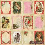 Лист скрапбумаги с картинками от Craft and You Design - Christmas Story,  30х30 см, CP-CS08 - ScrapUA.com