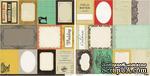 Лист скрапбумаги с картинками Crate Paper - Accent cuts Portrait, 30х30 см, двусторонняя - ScrapUA.com