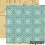 Лист скрапбумаги Crate Paper - Pretty Party Spool, 30х30 см, двусторонняя - ScrapUA.com