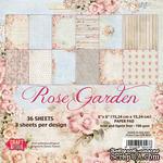 Набор скрапбумаги от Craft&You Design - ROSE GARDEN, 15,2×15,2, 36 шт - ScrapUA.com