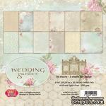 Набор односторонней скрапбумаги от Craft & You Design - Wedding Garden, 15x15 см, 36 шт, 190 гр/м2 - ScrapUA.com