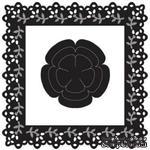 Набор лезвий Marianne Design Craftables - Lace Square & Flower, 4 штуки - ScrapUA.com
