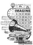 Акриловый штамп от Kaisercraft -Vintage Imagine Clear Stamp - ScrapUA.com