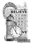 Акриловый штамп от Kaisercraft -Vintage Believe Clear Stamp - ScrapUA.com
