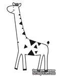 Акриловый штамп от Kaisercraft -GIRAFFE-MINI CLEAR - ScrapUA.com