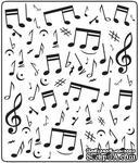 Папка для тиснения Crafts Too Embossing Folder - Music Notes - ScrapUA.com