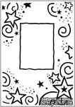 Папка для тиснения Crafts Too Embossing Folder - Stars Frame - ScrapUA.com