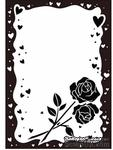 Папки для тиснения Crafts Too Embossing Folder -Rose & Heart Frame - ScrapUA.com
