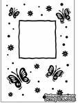 Папка для тиснения Crafts Too Embossing Folder - Butterfly Frame - ScrapUA.com