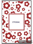 Папка для тиснения Crafts Too Embossing Folder - Flowers Frame - ScrapUA.com