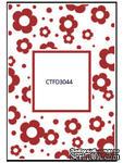 Папка для тиснения Crafts Too Embossing Folder - Flowers Frame - ScrapUA.com