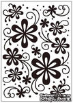 Папка для тиснения Crafts Too Embossing Folder - Daisy Delight - ScrapUA.com