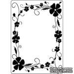 Папка для тиснения Crafts Too Embossing Folder - Pansy Frame - ScrapUA.com