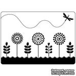 Папка для тиснения Crafts Too Embossing Folder - Spring Garden - ScrapUA.com