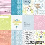 Лист с карточками от Lemon Owl - Cozy Winter, Mini cards EN, 30x30 см, 403145 - ScrapUA.com