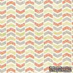 Лист скрапбумаги от Lemon Owl - Cozy Winter, Up and down, 30x30 см, 403104 - ScrapUA.com
