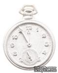 Гипсовое украшение от Melissa Frances - Pocket Watch Resin - Карманные часы.Размер: 4,5 см - ScrapUA.com