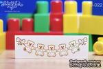 Чипборд от Вензелик - Подвеска с мишками, размер: 31x112 мм - ScrapUA.com